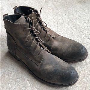 OFFICINE CREATIVE Men's Lace-Up Boots size 10.5